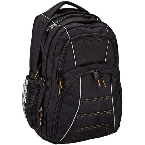 Black Colored Large Laptop Backpack