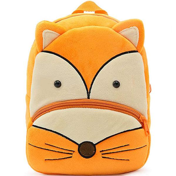 Orange Colored Zoo Fox Backpack