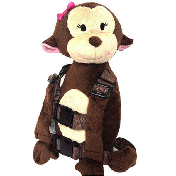 Toddler Anti-Lost Plush Monkey Backpack