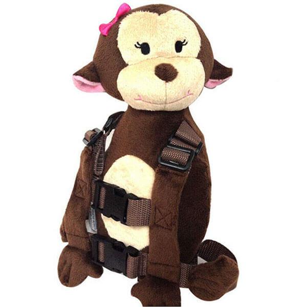 Toddler Anti-Lost Plush Monkey Backpack