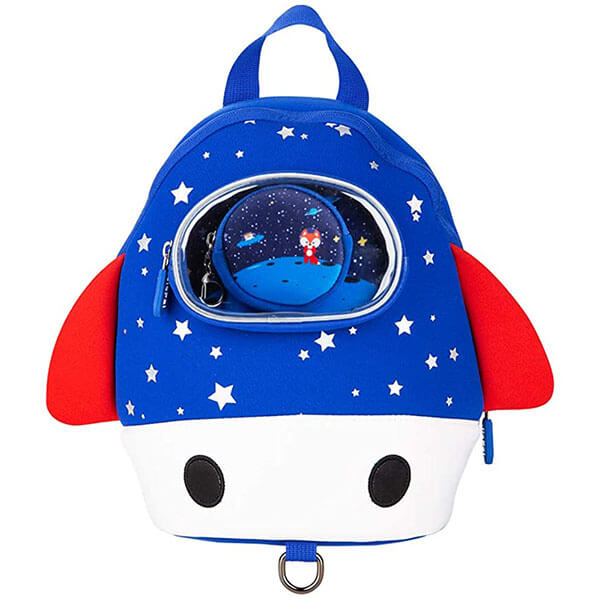 Waterproof Neoprene Astronaut Fox Backpack