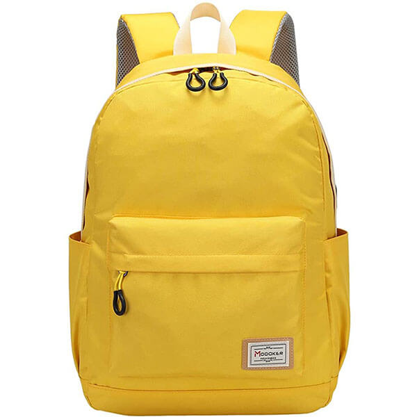 Yellow Work Backpack with USB Port