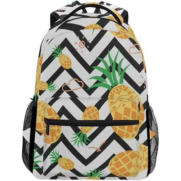 Pineapple Print Hawaiian Backpack