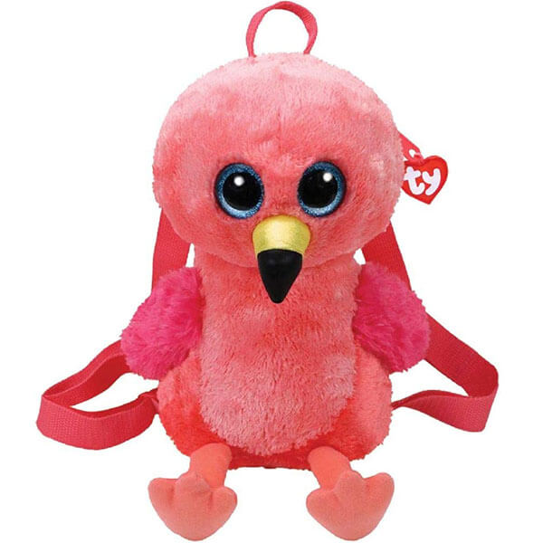 Fashionable Flamingo Gilda Squishy Backpack