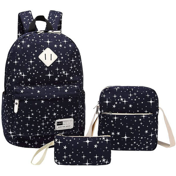 Gorgeous Stars 3 in 1 Backpack Set
