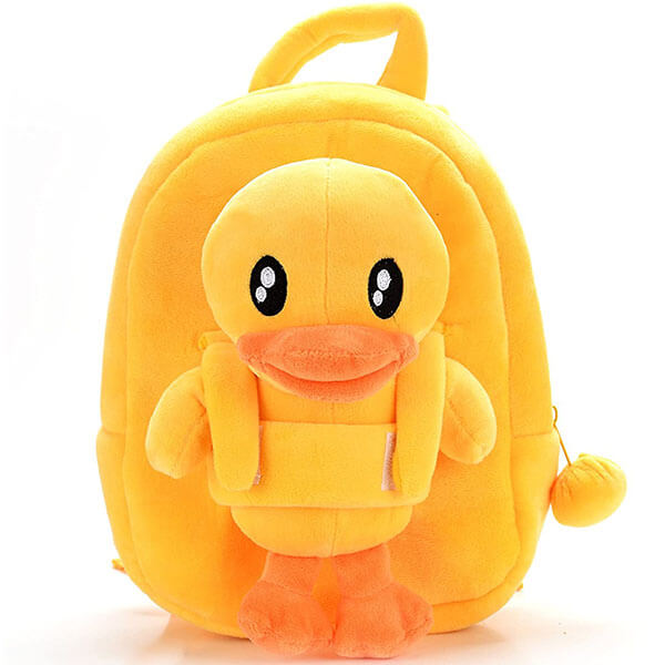 Yellow Duck Backpack for Children