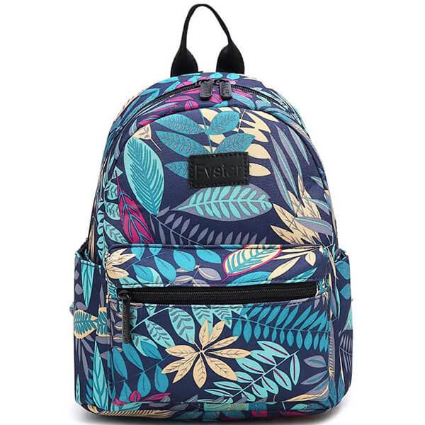 Multicolor Floral Hawaiian Mini Backpack