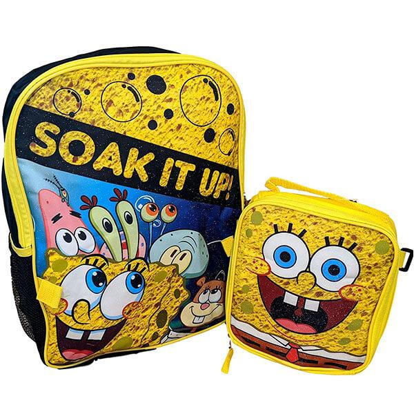 SpongeBob Soak it Up Backpack Set