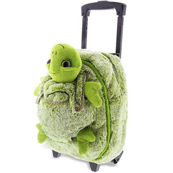 Sea-Turtle Green Trolley Backpack