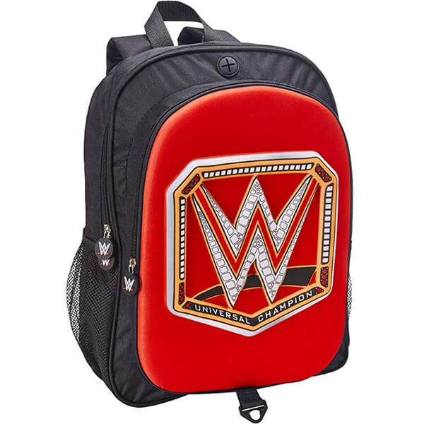 3D Molded WWE Universal Championship Backpack
