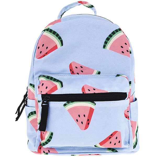 Light Blue Watermelon Teenagers Backpack
