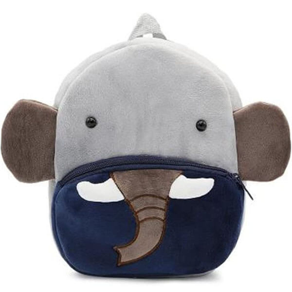 Soft Elephant Animal Backpack for Toddlers