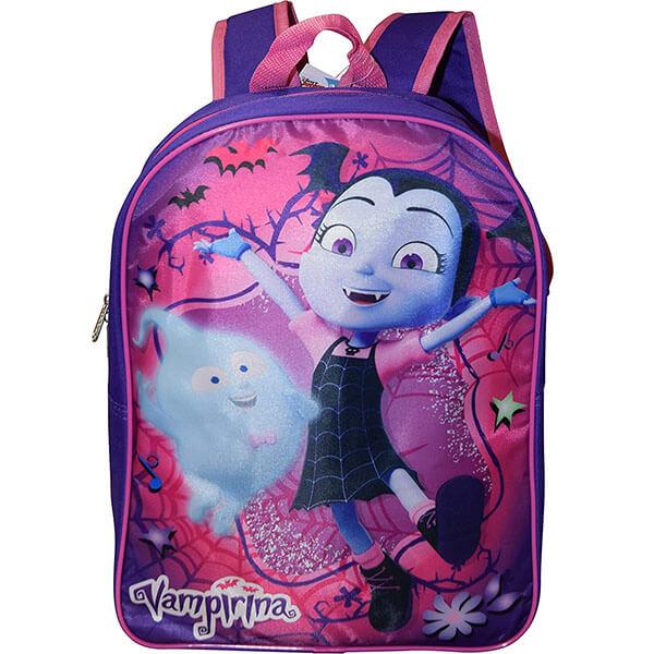 Preschooler Glittered Vampirina Bookbag