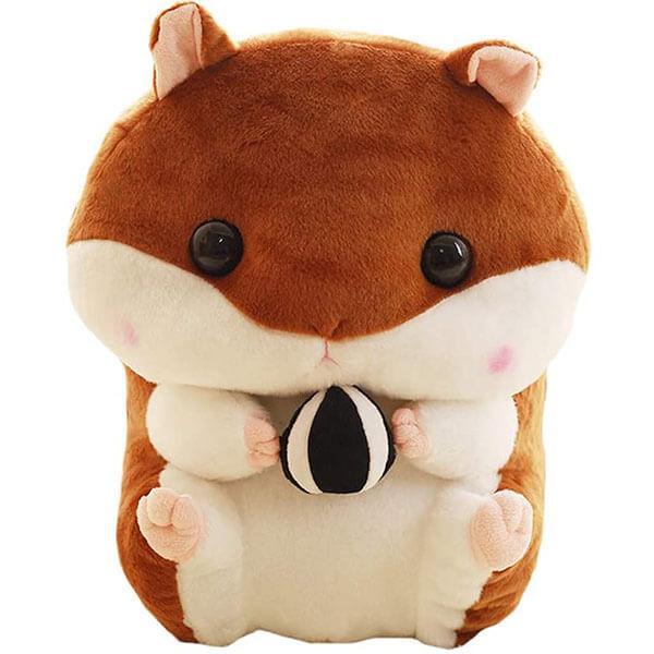 Stuffed Hamster Doll Backpack