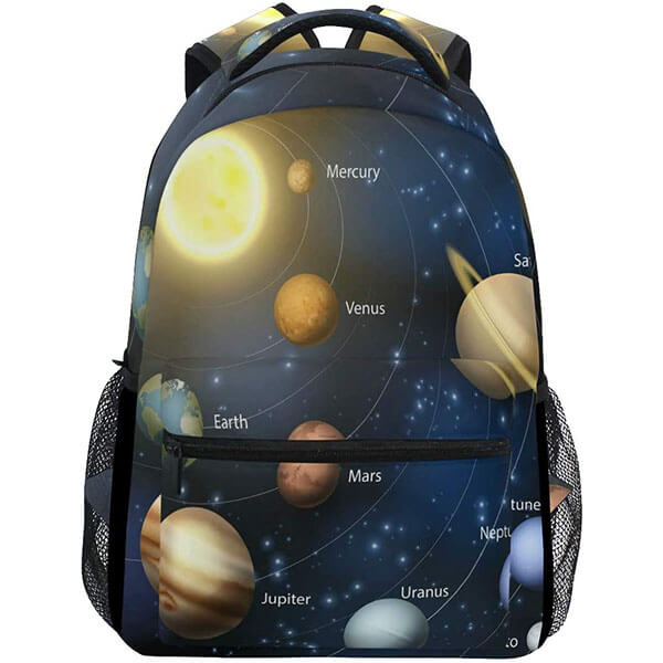 Stylish Solar System Backpack for School and Collage