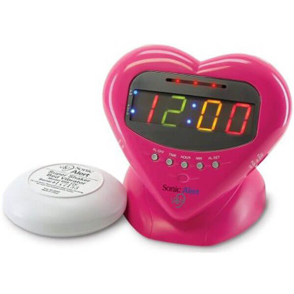 Sweetheart Alarm With Super Shaker