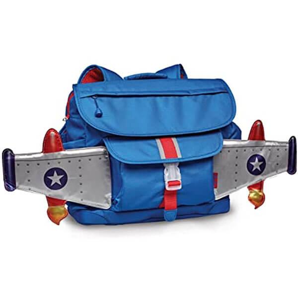 Blue Color Spacecraft Backpack