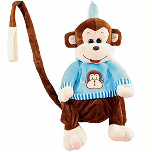 Kids Anti-Lost Monkey Doll Backpack
