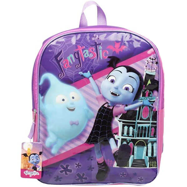 Purple-Pink Vampirina Demi Backpack for Girls