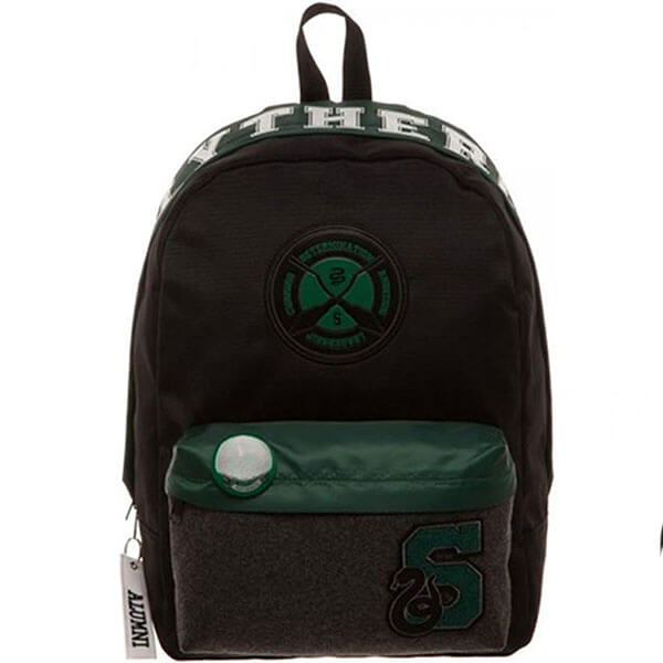 Stylish Harry Potter Slytherin Backpack