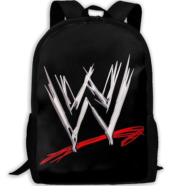 Wrinkle-Resistant WWE Logo Oxford Backpack