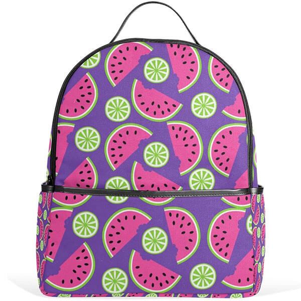 Anti-Scratch Watermelon Travel Bookbag