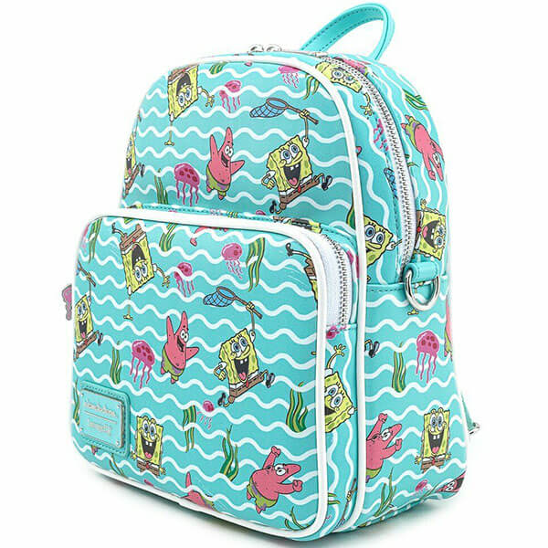Convertible SpongeBob Backpack for Kids