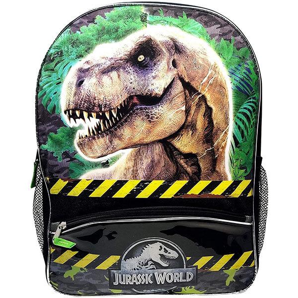Dinosaur Backpack with Jurassic Park Logo