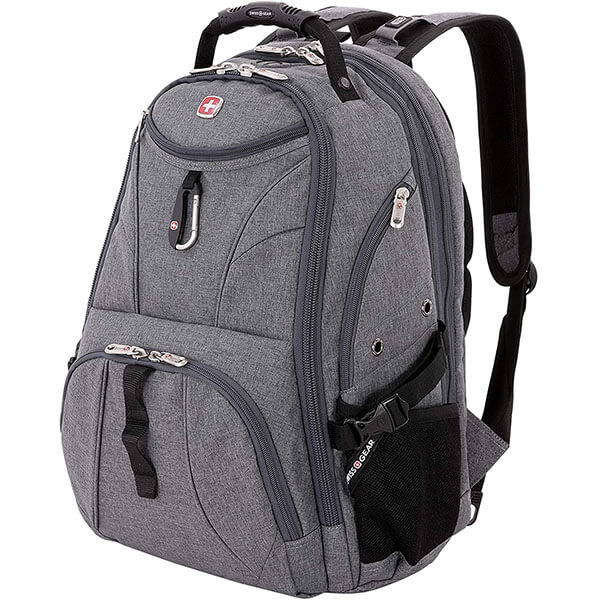 Swissgear Lay Flat Grey Color Spacious Backpack