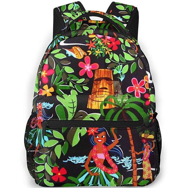 Hawaiian Girl Dancing Backpack