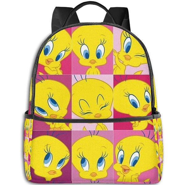 Looney Tunes Emoji Book Bag for Kids