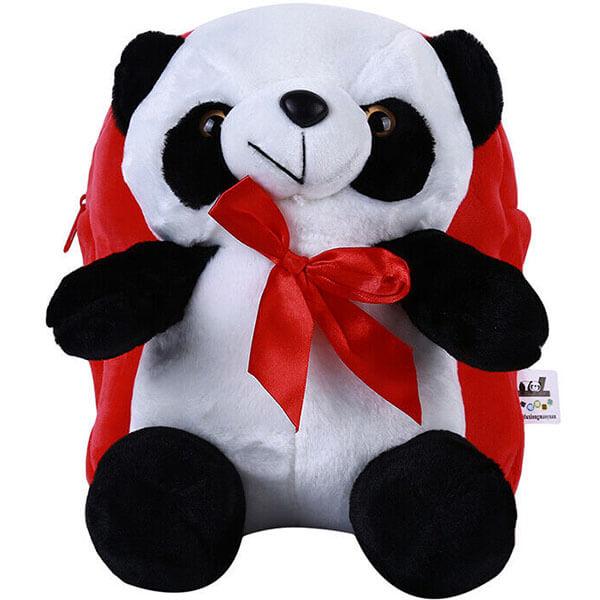 Cute Panda Plush Backpack for Outdoors