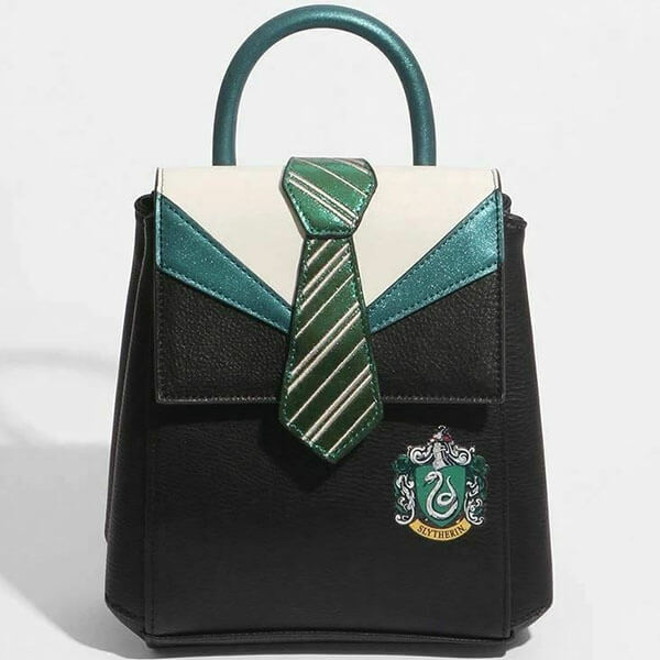 Slytherin Uniform Crest Mini Backpack