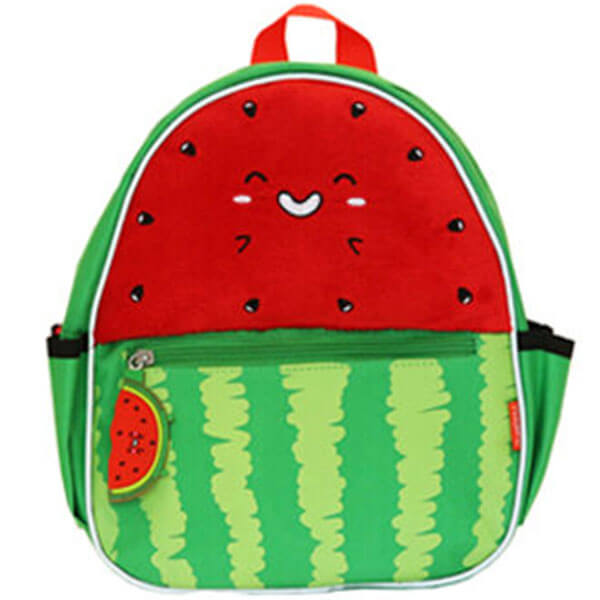 Smiling Watermelon Plush Backpack