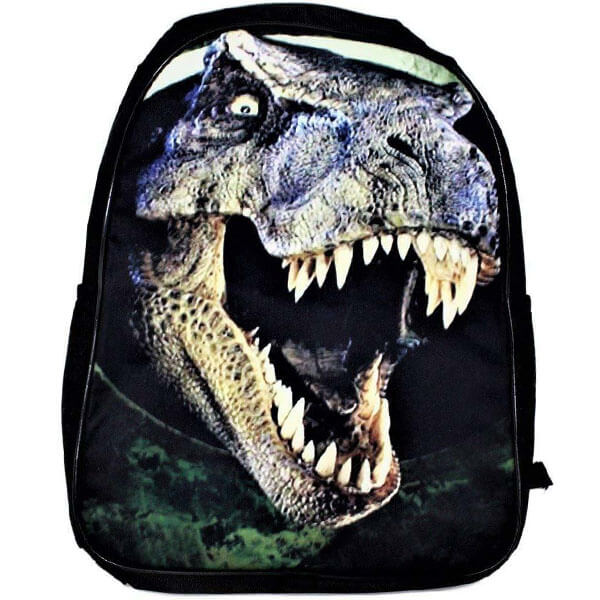 T-Rex Black Colored Neoprene Backpack for Outdoors