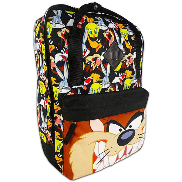 Black Colored Cartoon Backpack