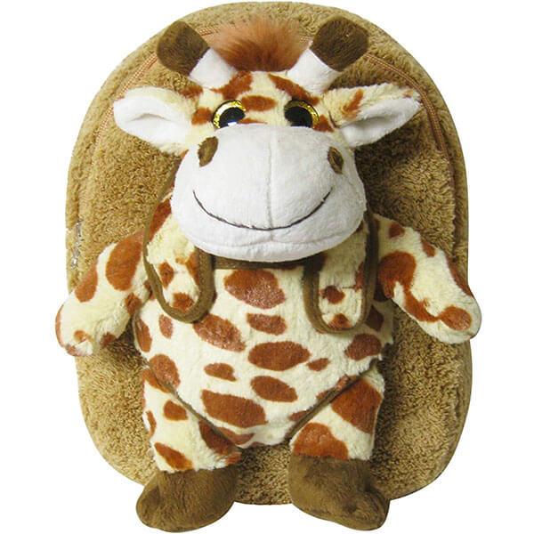 Detachable Plush Giraffe Backpack for Toddlers
