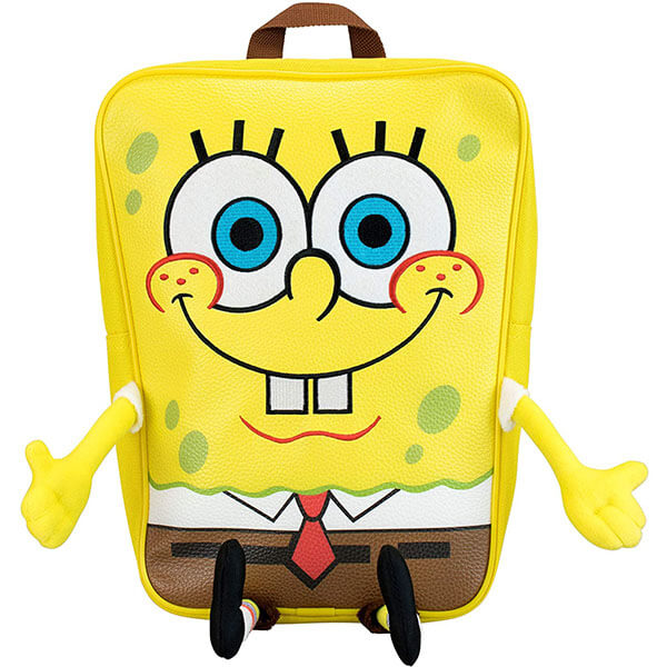 SpongeBob Bookbag with Snail Keychain