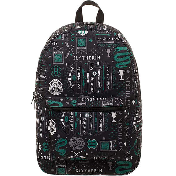 All-Over Print Harry Potter Slytherin backpack