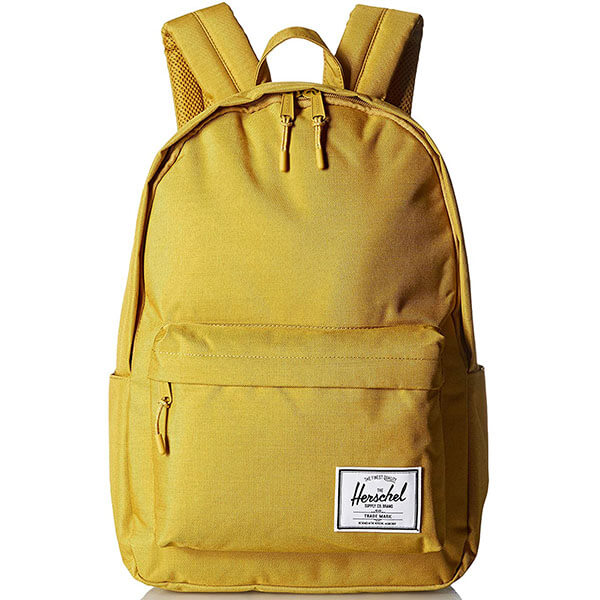 Classic Yellow Backpack with Herschel Logo