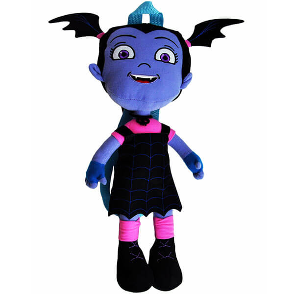 Cute Plush Vampirina Shaped Backpack