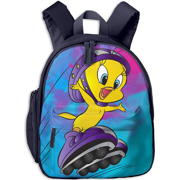 Fun Tweety Bird in Skates Backpack