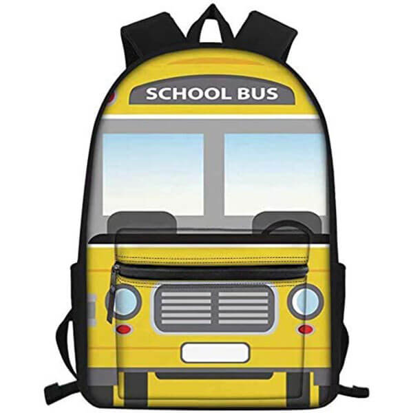 Large Capacity School Bus Backpack