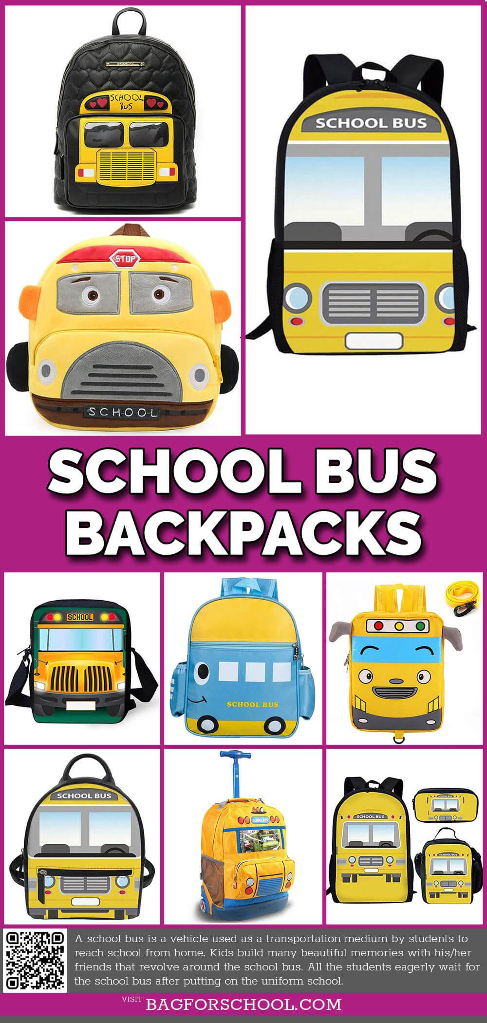 school bus backpack