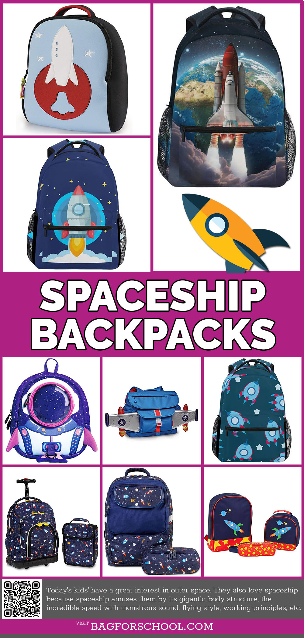 Spaceship Backpacks