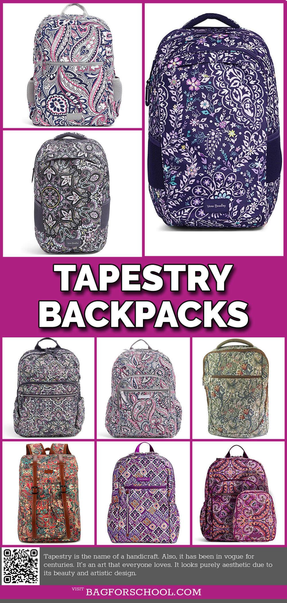 tapestry backpacks