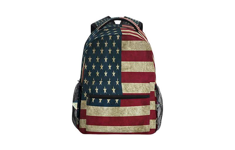 usa Logo and Prints Backpack