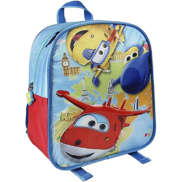 3D Super Wings Toddler Bookbag