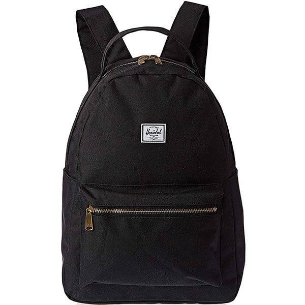 Black Color Herschel Nova Backpack
