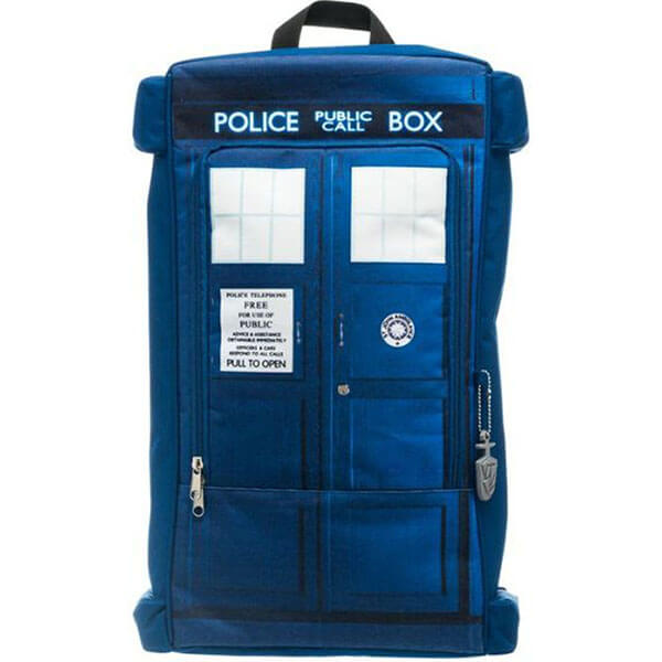 Doctor Who Police Box Tardis Cotton Backpack